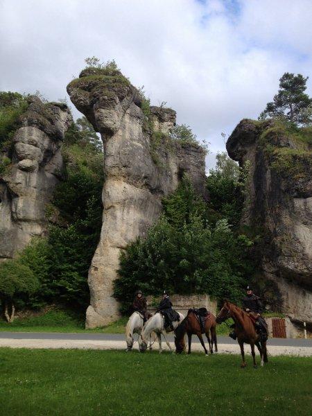 Reiturlaub Fraenkische Schweiz