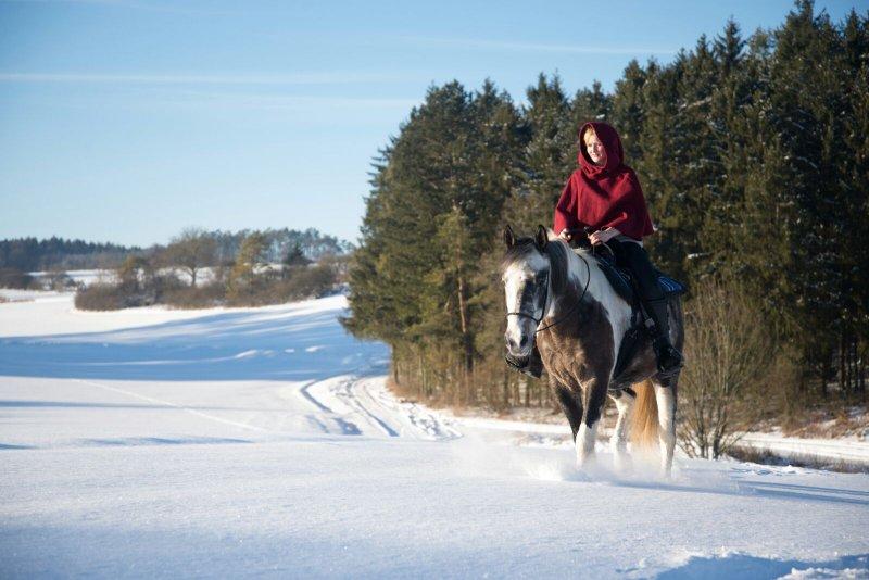 Reiturlaub im Winter